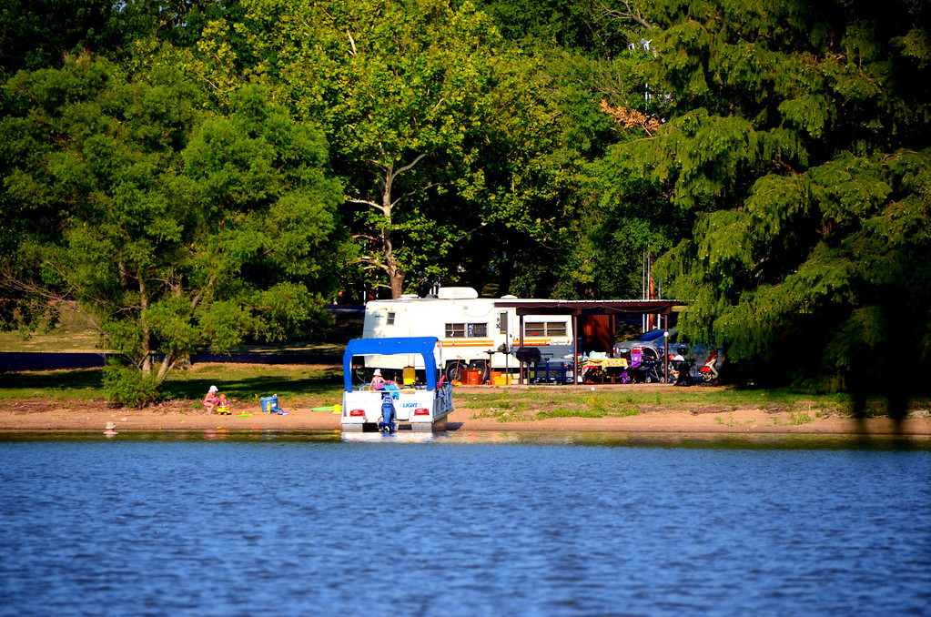 Kansas lakes offer a welcome respite to the heat to many residents during summer months.