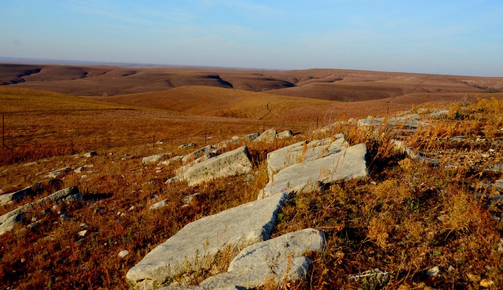 Teter Hill rocks.