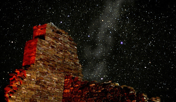 Chaco is the fourth unit in the  National Park System to be designated as an International Dark Sky Park.<br /> <br /> I have never seen so many stars with such clarity before.<br /> <br /> National Park Service photo.