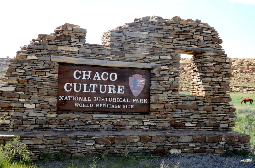 "A long planned visit to Chaco Canyon was recently realized. It was everything I had read about, anticipated and more.<br /> <br /> Chaco Culture National Historical Park is a United States National Historical Park hosting the densest and most exceptional concentration of pueblos in the American Southwest.<br /> <br /> The sites are considered sacred ancestral homelands by the Hopi and Pueblo people, who maintain oral accounts of their historical migration from Chaco and their spiritual relationship to the land.<br /> <br /> Link to objects from the Chaco Culture National Historical Park museum collections. <br />  <a href=""http://www.nps.gov/history/museum/exhibits/chcu/img.html"">http://www.nps.gov/history/museum/exhibits/chcu/img.html</a><br /> <br /> ""Chaco Canyon was the center of a thriving culture a thousand years ago. The monumental scale of its architecture, the complexity of its community life, the high level of its community social organization, and its far-reaching commerce created a cultural vision unlike any other seen before or since.""<br /> <br /> From a 1930 Department of the Interior publication, ""Glimpses of Our National Monuments"":<br /> <br /> ""As examples of primitive architectural skill the 18 major ruins of Chaco Canyon National Monument, N. Mex., are without equal in the United States. Together with the cultural material recovered from their abandoned rooms, these ruins represent the very zenith of pueblo civilization in prehistoric times. No other archeological area in the entire Southwest exhibits so high a development. The ancient inhabitants of Chaco Canyon left no written record; no interpretable hieroglyphic system. The first published description of the Chaco Canyon ruins is that of Lieut. J. H. Simpson, in 1850; the second, that of W. H. Jackson, in 1879. Mexican and Indian guides accompanying Simpson gave the ruins the names by which they are now known."""