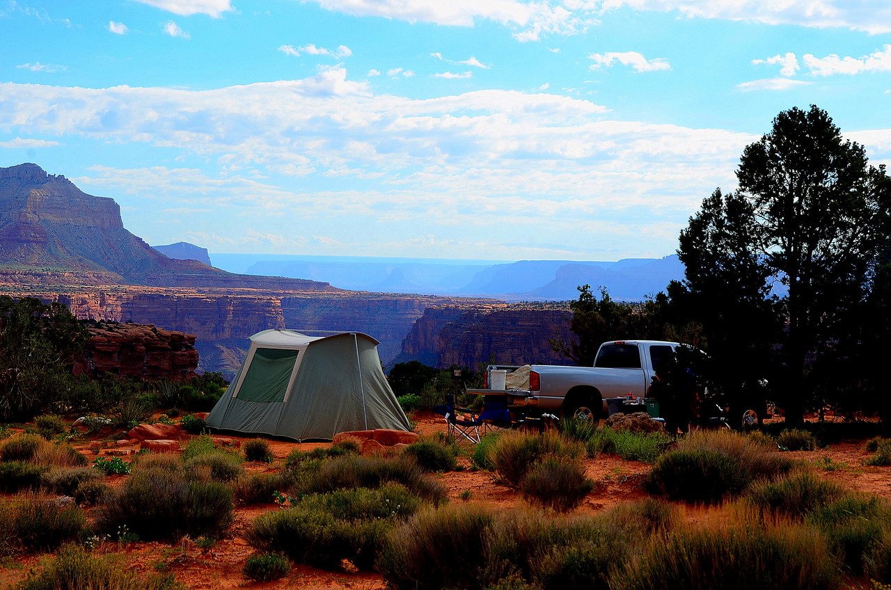 Tuweep Campground<br /> <br /> There are 9 primitive first-come first-serve sites at the Tuweep Campground, Arguably the best view of any camping site in the National Park system.