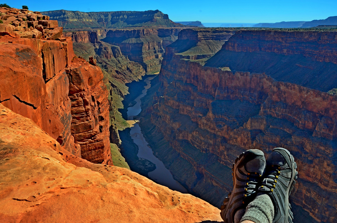 Three years earlier I saw a picture from Toroweap Overlook on the North Rim of the Grand Canyon. I pointed to the picture and told my wife I was going there. The view there is very special. The canyon narrows at this point to 1/2 mile wide and the Colorado River is 3,000 feet directly below you. <br /> <br /> The 61 mile road to Toroweap is an amazing journey. I discovered that there was much more beauty there then just the view from the Overlook. Toroweap is a place that is not easy to leave once you get there.<br /> <br /> The journey to Toroweap was the most challenging adventure I have had to date in my Casita. It was a great test for the system modifications I have done to allow boondocking in comfort.