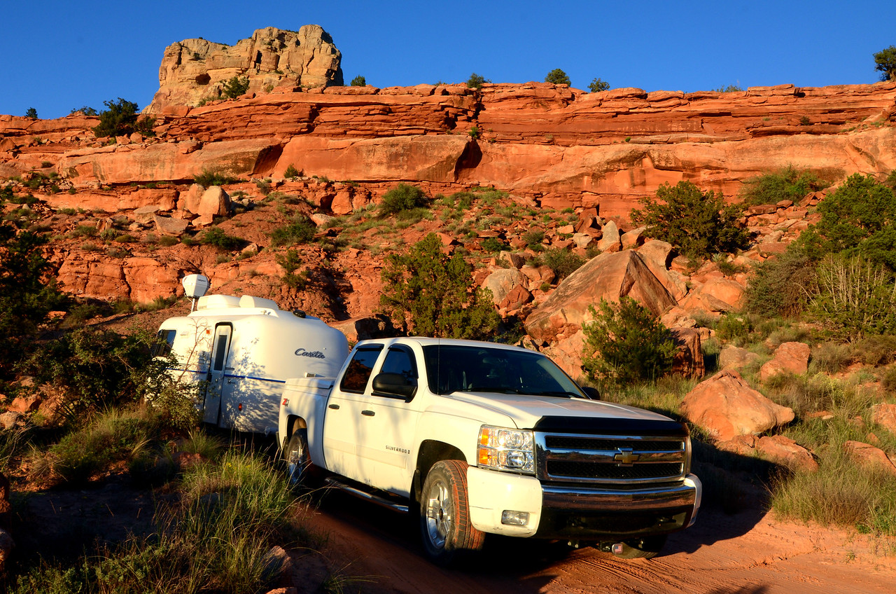 Road to Tuweep Campground