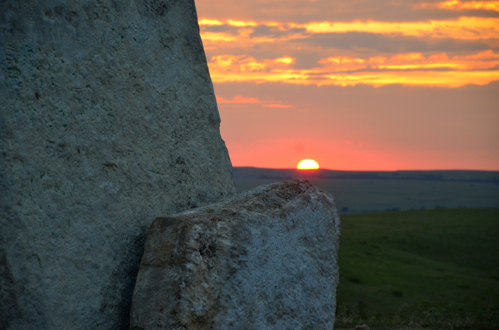 Morning light on Teter Rock.