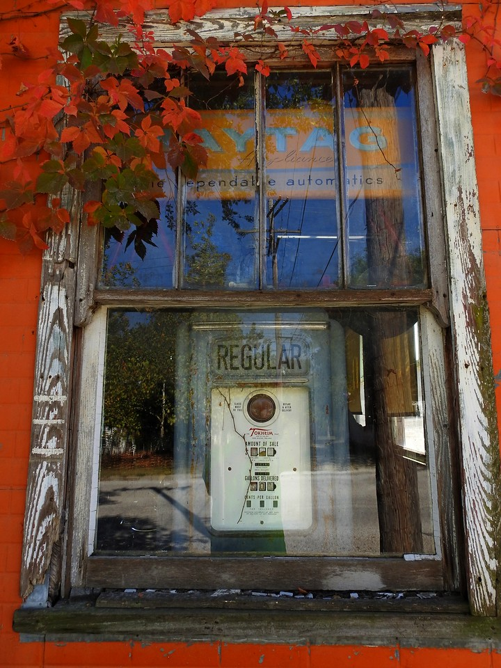 Cleo's Antiques in Cottonwood Falls never fails to leave visitors with photo opportunities.