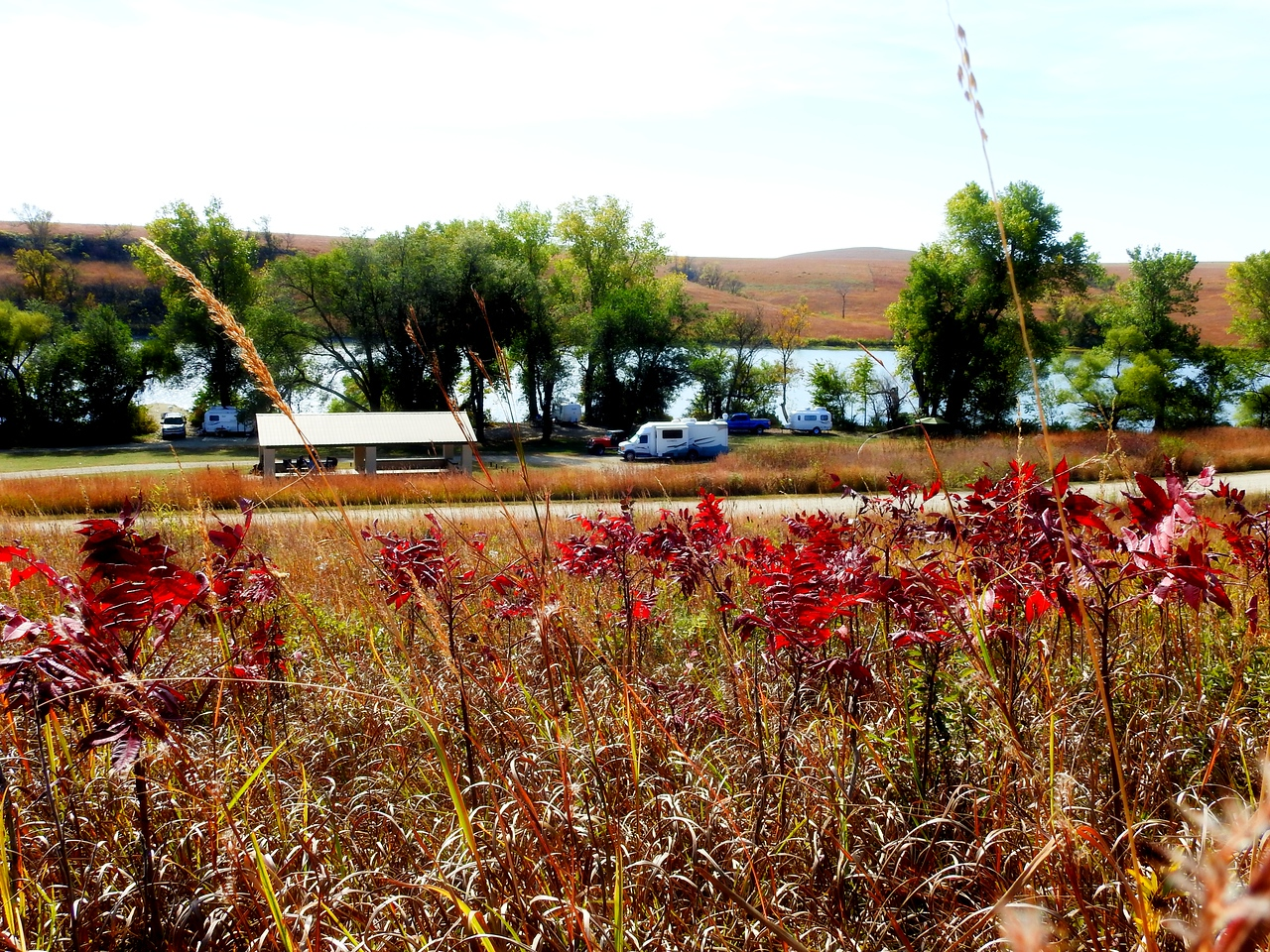 It's fall again in the Kansas Flint Hills and I always looks forward to camping at this time with a small group of friends that appreciate the beauty of this area as much as I do.