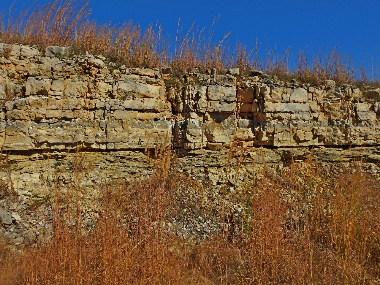 The inability to plow the rugged Flint Hills has ensured the survival  of the pristine area.