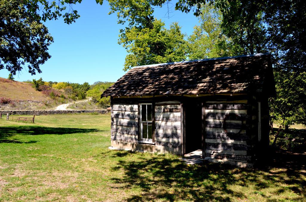 "Charles Rongler cabin 1859.<br /> <a href=""http://www.slideshare.net/matilem/his-her-story-of-pb"">http://www.slideshare.net/matilem/his-her-story-of-pb</a>"