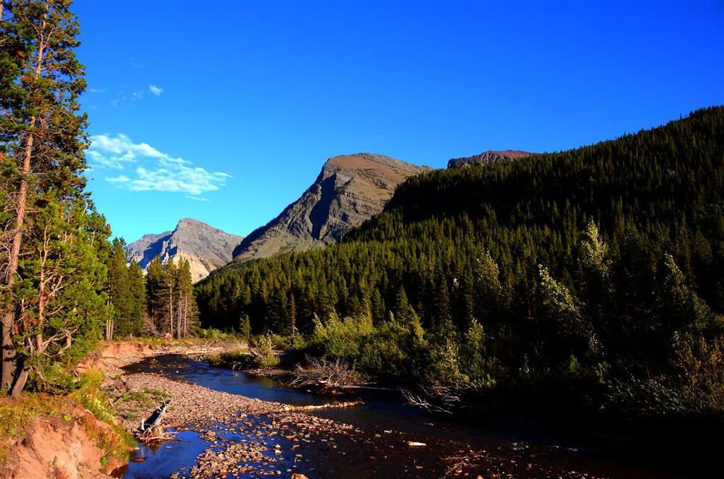 September 2 <br /> <br /> Swiftwater Creek behind campsite