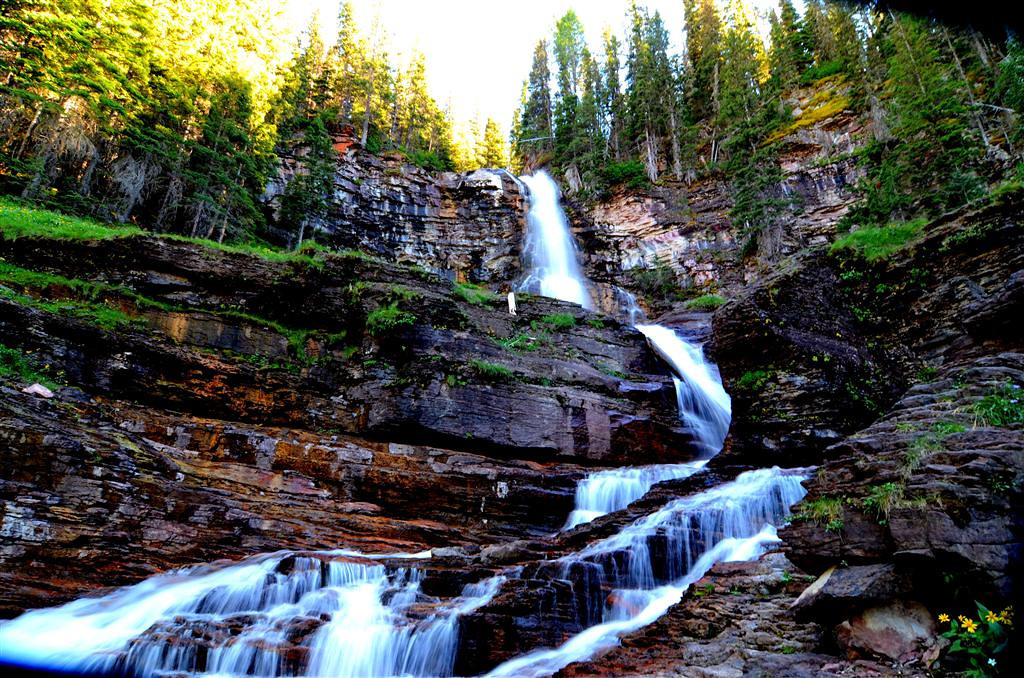 August 25<br /> <br />  St Mary Waterfall Trail