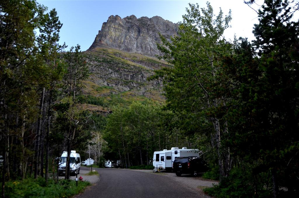 August 30<br /> <br /> Many Glacier Campground