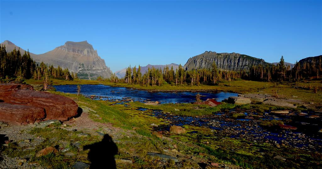 August 23<br /> <br /> Sub Alpine area of Hidden Lake Trail