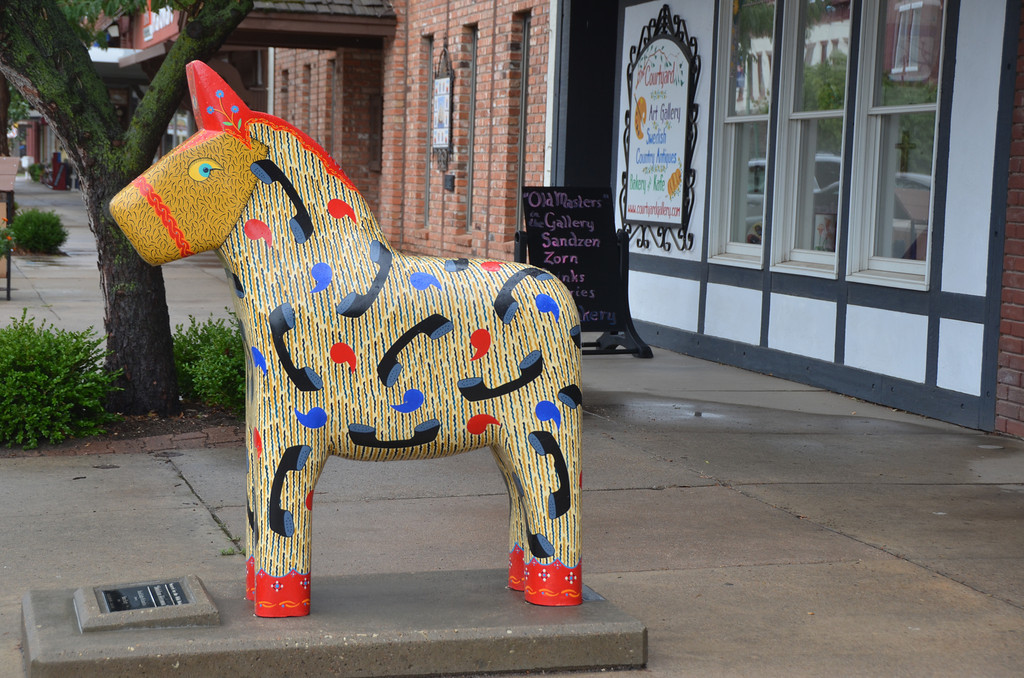 August 14<br /> <br /> One of the Dala horses.