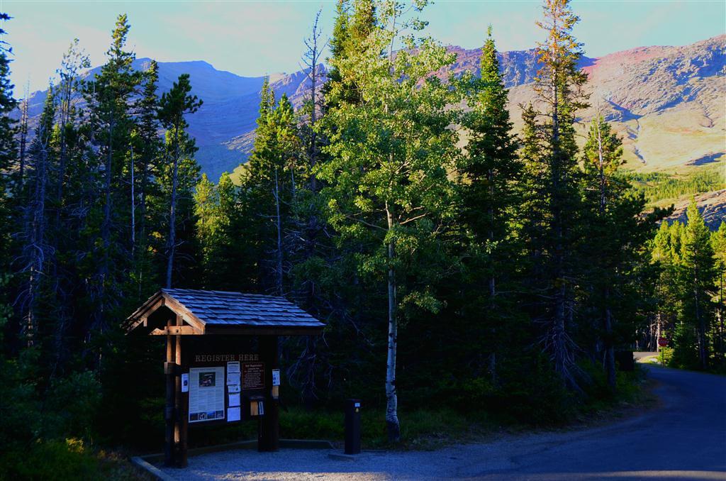September 2 <br /> <br /> Many Glacier Campground