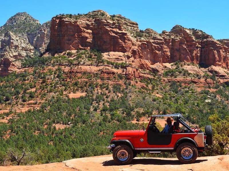 My Jeep proved itself in a recent trip to Sedona. It easily navigated the trails in low gear and the torque from the 258 engine allowed it to idle over most obstacles.
