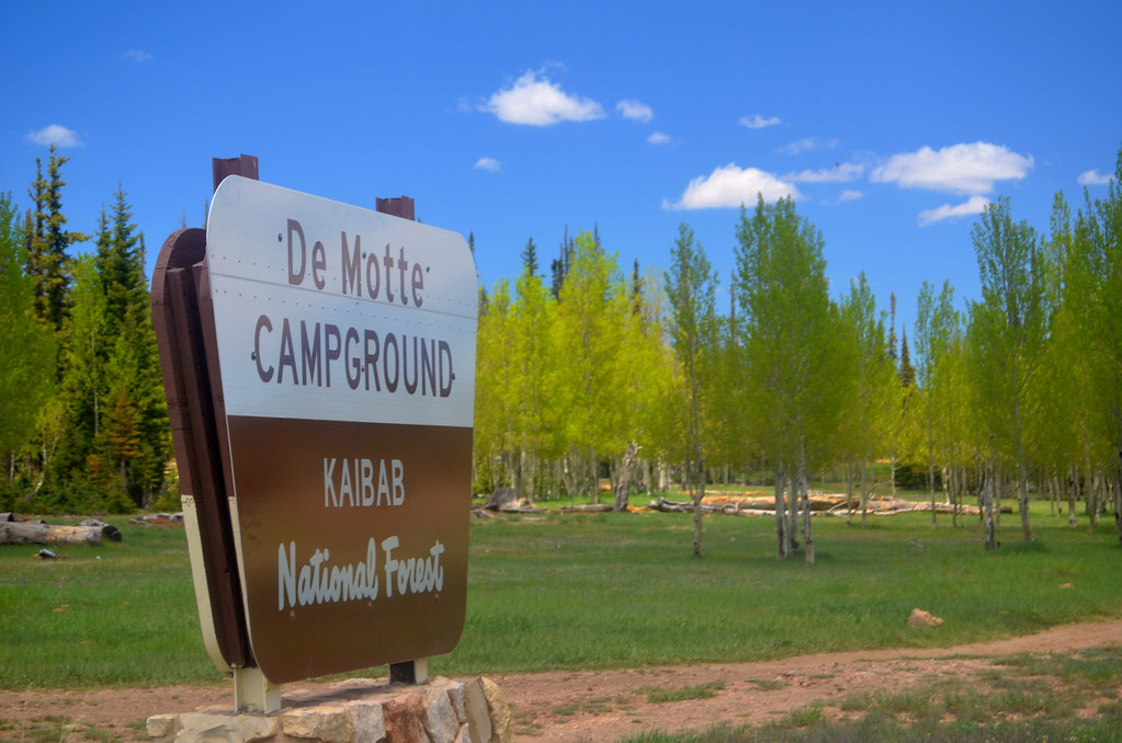 De Motte Campground near the North Rim Campground is a good alternative to consider as a campsite when the North Rim is full.