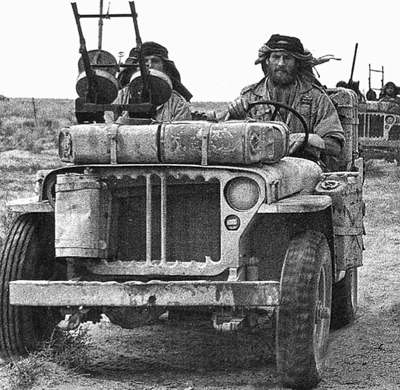That feeling you get when driving your Jeep. My horn does not work on my Jeep so I am looking for a source for that twin Vickers machine gun.