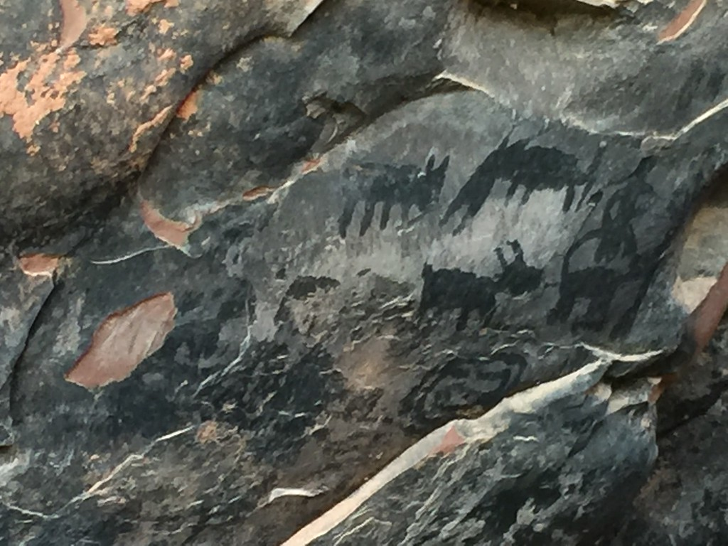 Petroglyphs at Palatki Heritage Park.
