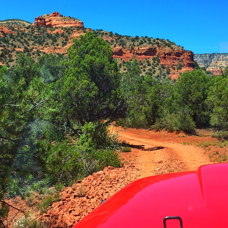 """""""Of all the paths you take in life, make sure a few of them are in red dirt.""""<br /> - Me, with apologies to John Muir"""