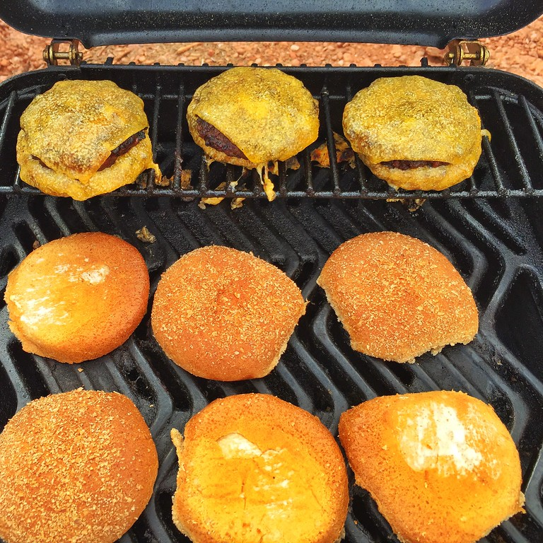 Breaker 1-9 we have burgers on the grill.....