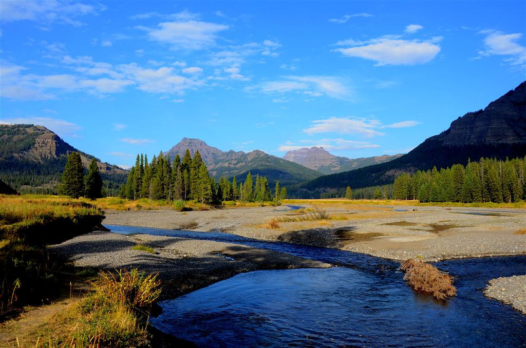 September 10<br /> <br /> Lamar Valley in Yellowstone
