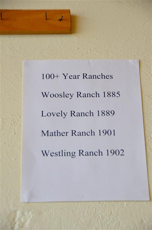 September 4<br /> <br /> Wilsall, Mt. Family ranches over a hundred years old are honored.