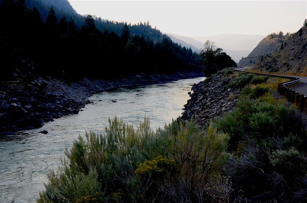 September 4<br /> <br /> Yellowstone River near Gardiner, Mt.