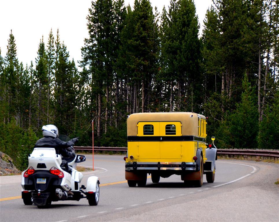 September 6<br /> <br /> Old form of park transportation and new form.