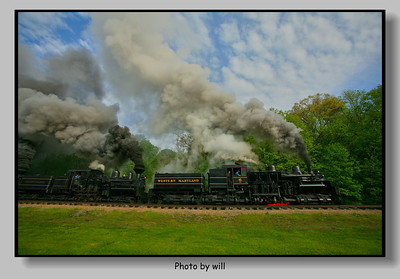 Cass West Virginia steam railroad and  Western Maryland