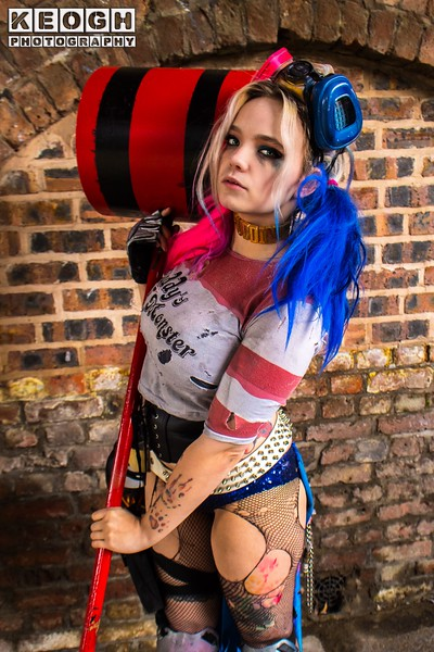 Cassandra Suicide Squad Harley Quinn Mad Max cosplay shoot