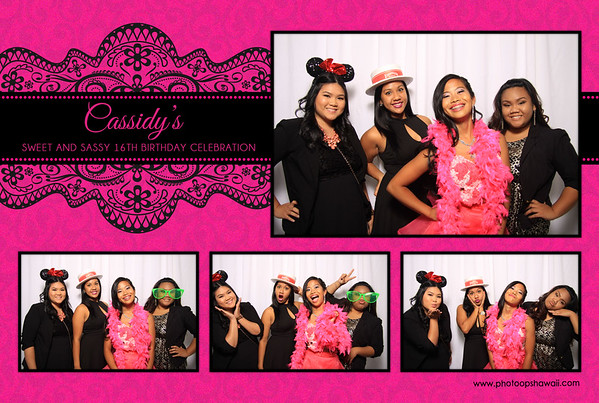 Cassidy's Sassy & Sweet 16th Party (Fusion Portraits)