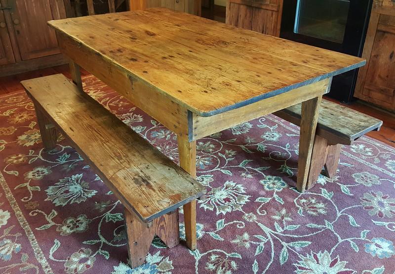 """Farm Table,  62"""" x 32"""""""
