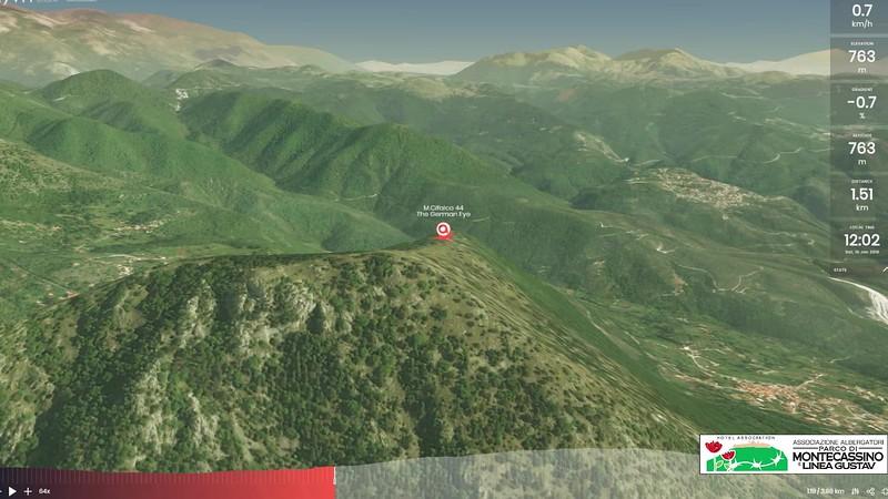 Fortini Tedeschi su Monte Cifalco