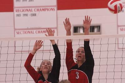 Cassville @ Highland Volleyball 9-14-17