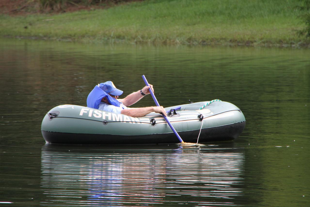 Row, row, row your boat.......
