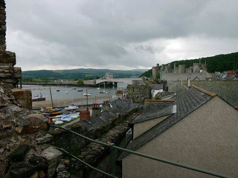 Castell Conwy - Conway Castle Town Wall - 7