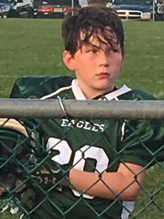 Team Eagles  # 20  Ryder DuBois -  Contact  Matt D
