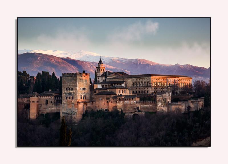 Alhambra Palacio, Granada