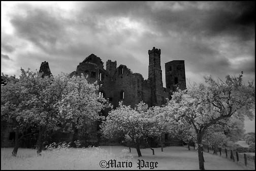 Wingfield manor,Derbyshire, England