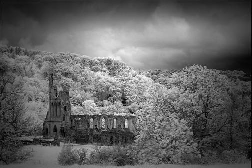 Byland abbey, Yorkshire, England