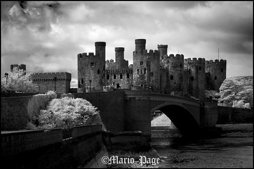 Conwy castle, Wales, England