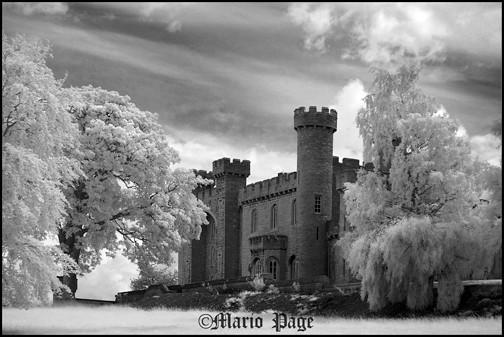 Boddelwydan castle, Wales, England