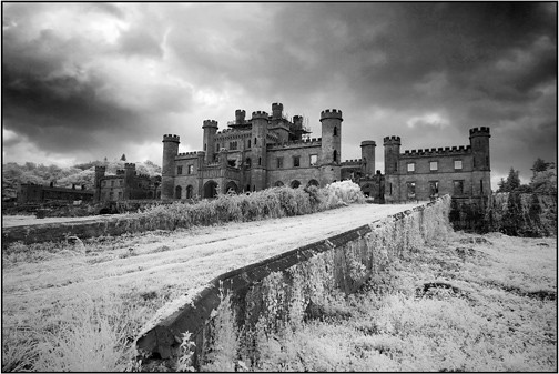 Lowther castle, Cumbria, England