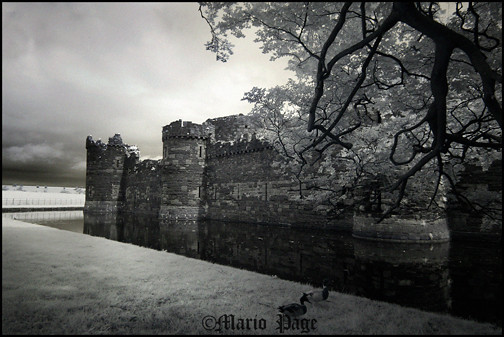 Beaumaris castle, North Wales
