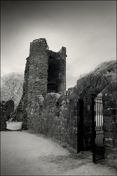 Old Crom castle, Co. Fermanagh, Northern Ireland