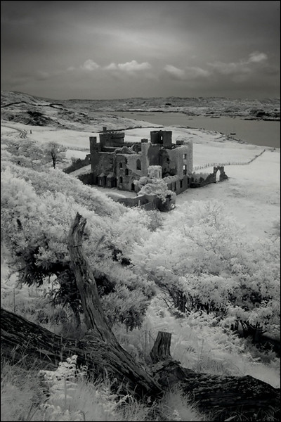 Clifden castle, Co. Galway, Ireland