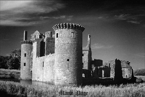 Caerlevarock castle, Dumfries, Scotland