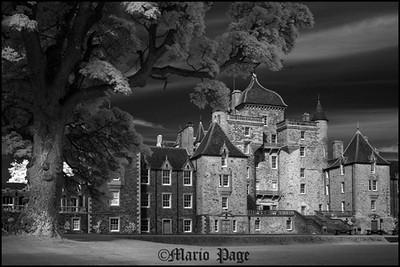 Thirlestane castle, Berwickshire, Scotland