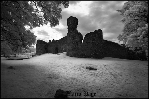 Old Inverlochy castle, fort Williams, Scotland