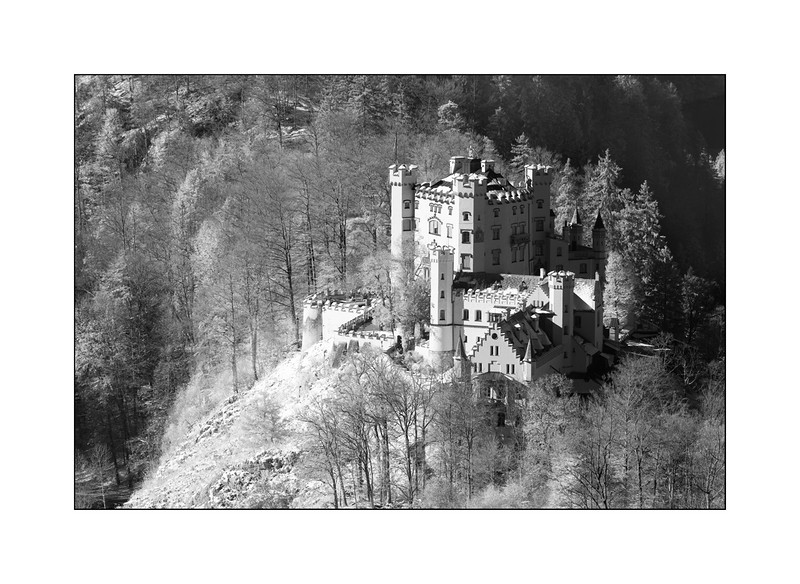 Schloss Hohenschwangau, Ostallgäu, Bavaria